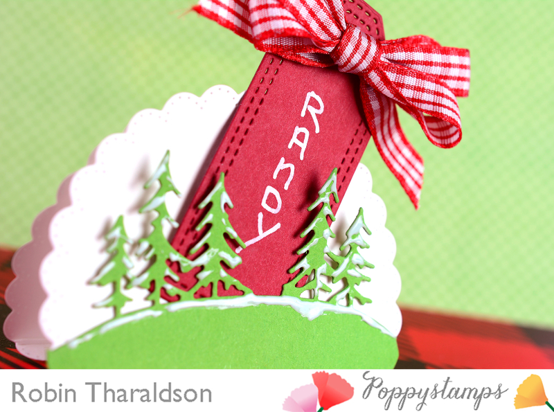 Holiday Place Card CU1 With