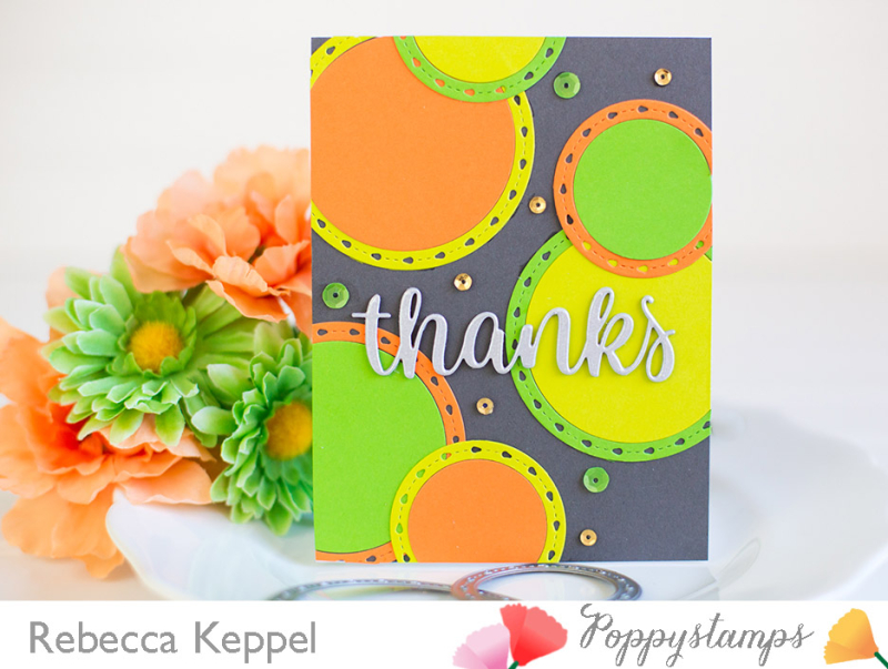 Rebecca keppel poppystamps nested dies 2 ways card 1
