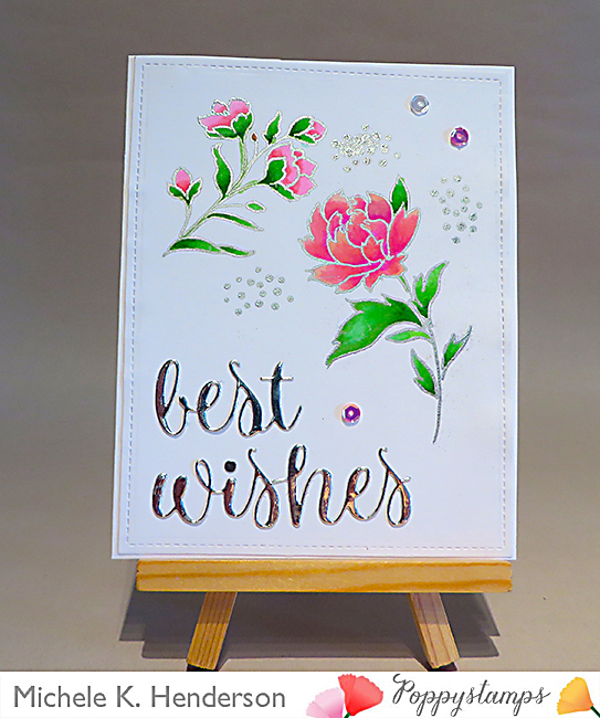 2071 Best WIshes Folksy Script