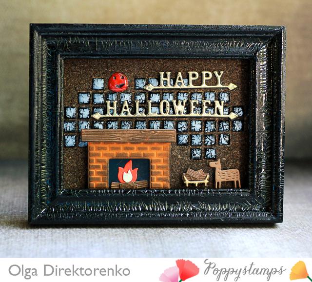 Cozy Halloween Frame 1