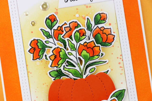 Pumpkin-Floral-Four