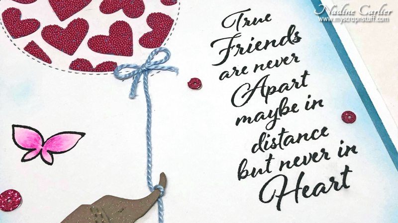 Friendship Card using Poppystamps by Nadine Carlier 3