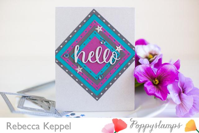 Rebecca keppel poppystamps nested dies 2 ways card 5