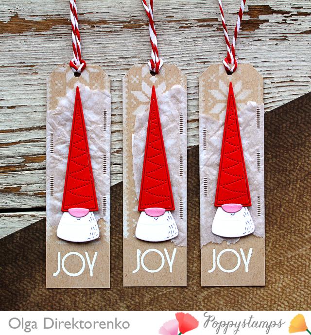 Gnome Santa Tags 1