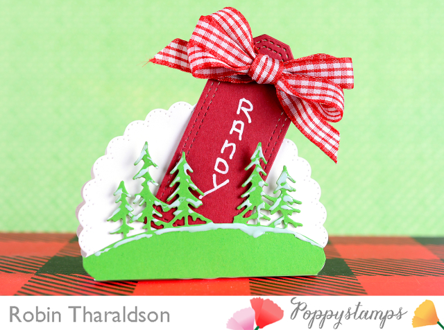 Holiday Place Card Full With