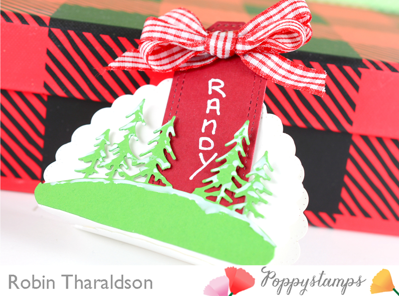 Holiday Place Card CU2 With