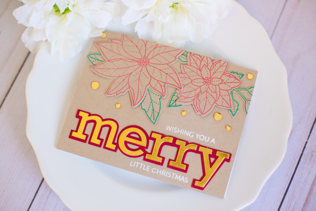 Rebecca keppel poppystamps kraft christmas card (2 of 2)