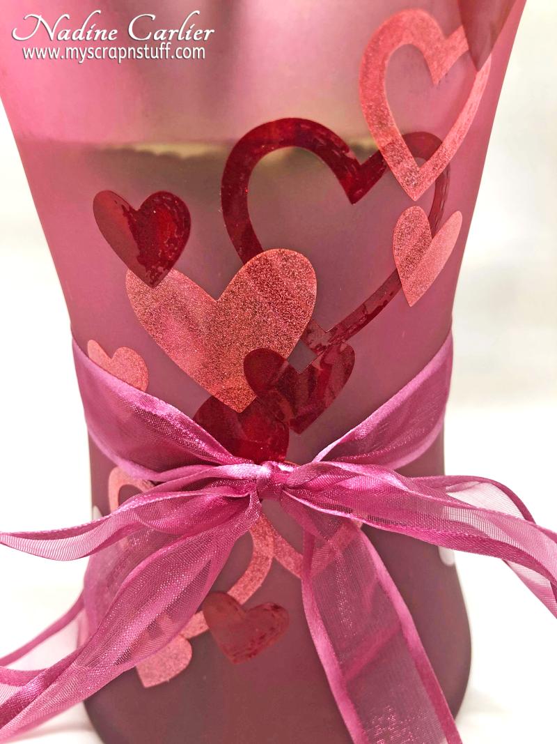 DIY Valentine Vase by Nadine Carlier 3