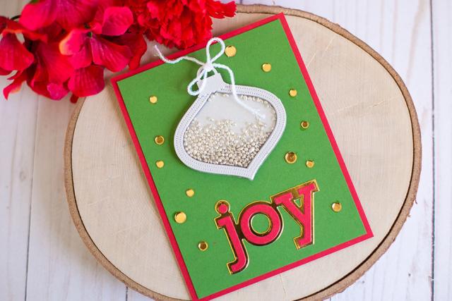 Rebecca keppel poppystamps joy shaker card 3
