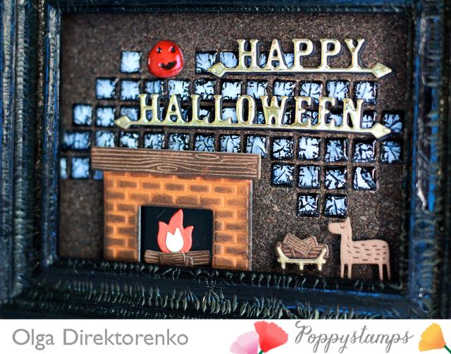 Cozy Halloween Frame 2