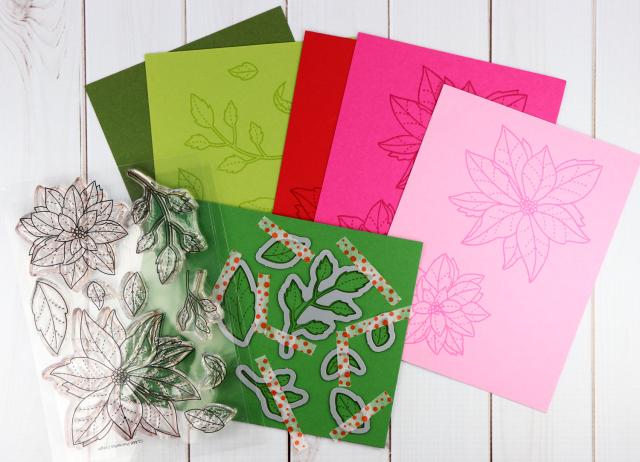 Stamped-Poinsettias