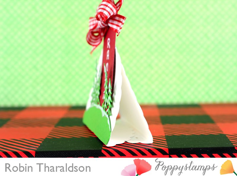 Holiday Place Card CU3 With