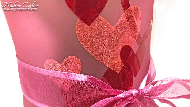DIY Valentine Vase by Nadine Carlier 1