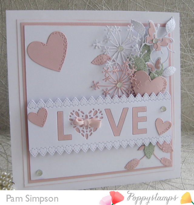 2170 Seed Love Collage craft die