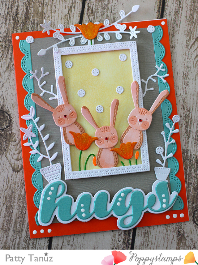 2196 Luscious Script Hugs craft die