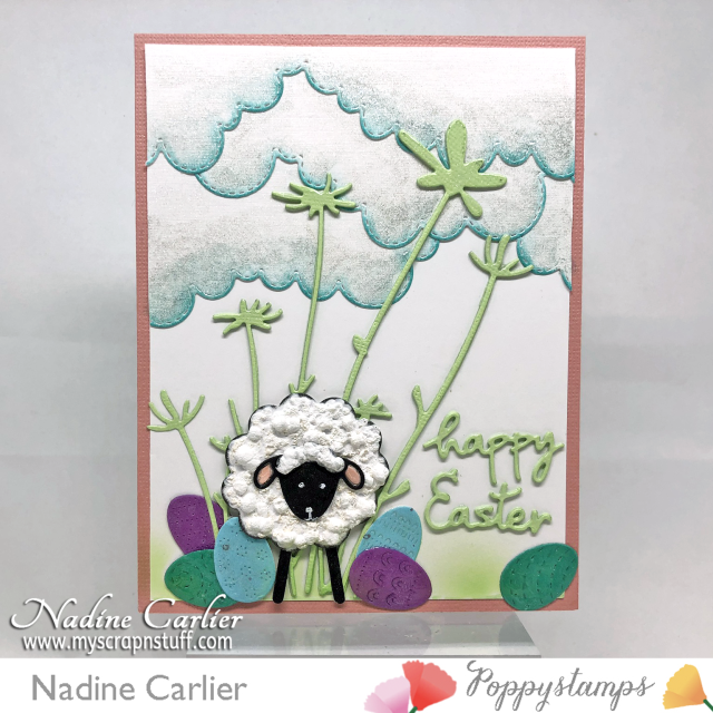 Cute Easter Card by Nadine Carlier wm