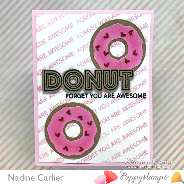 Donut Card by Nadine Carlier
