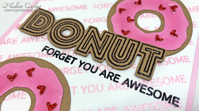 Donut Card by Nadine Carlier 3