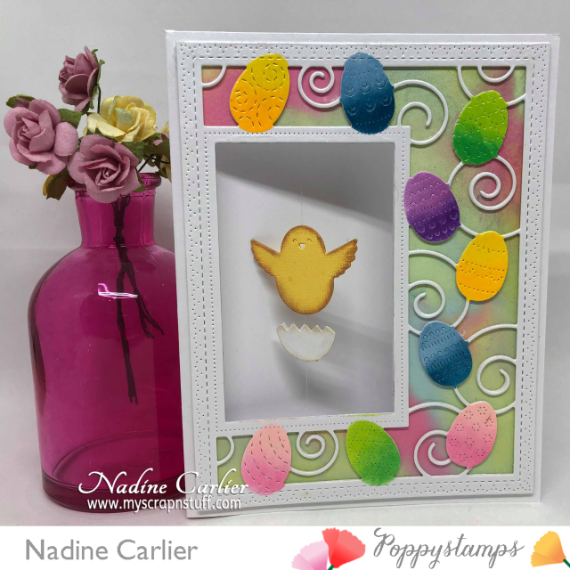 Easter Spinner Card by Nadine Carlier