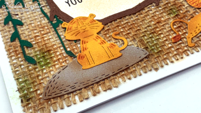 Party Animal Card with Poppystamps by Nadine Carlier 4