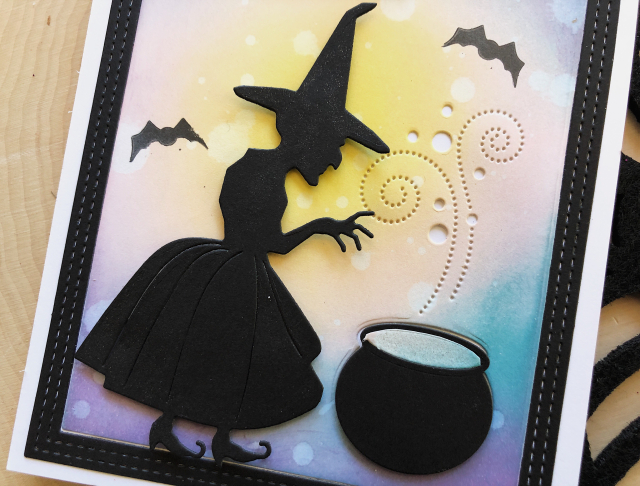 Witch card close up