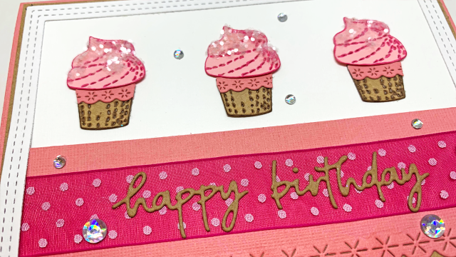 Cupcake Birthday Card 3