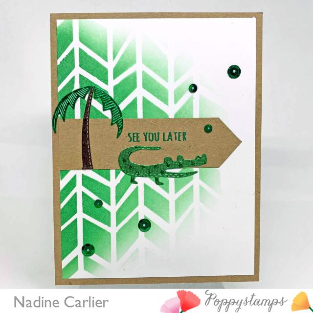 CAS Gator Card by Nadine Carlier