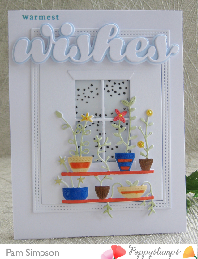 2197 Luscious Script Wishes craft die
