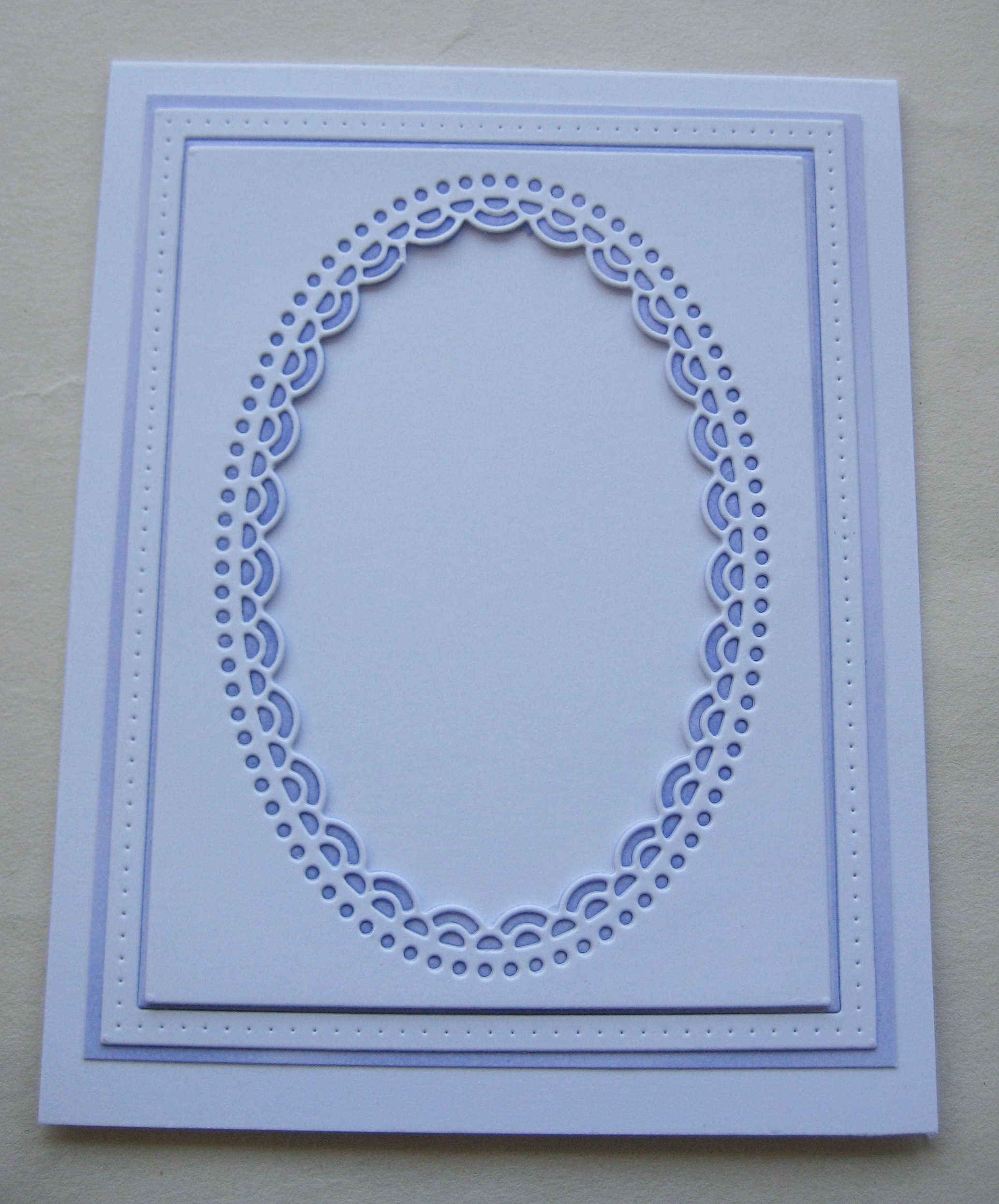 Oval Frame /& Border Metal Die Cut Double Scallop Poppystamps Cutting Dies 2224