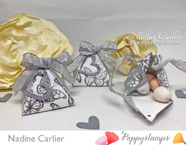 DIY Wedding Favors Gift Boxes by Nadine Carlier PS