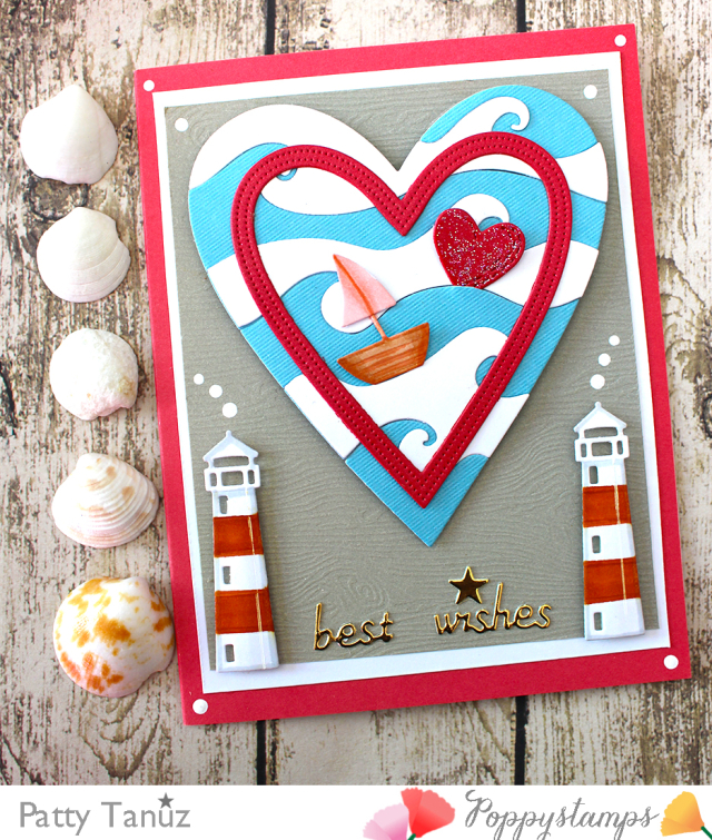 2171 Lighthouse Frame craft die
