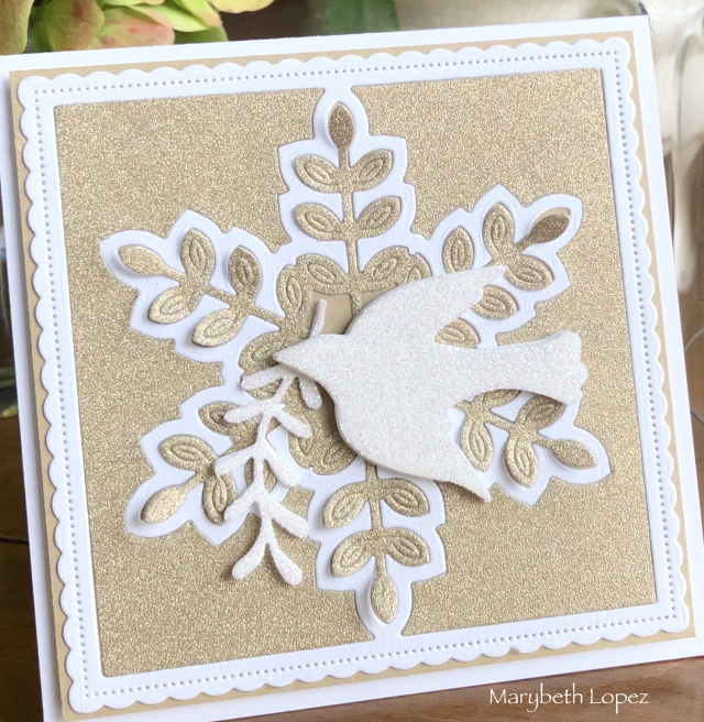 2228 Dove and Olive Branch craft die