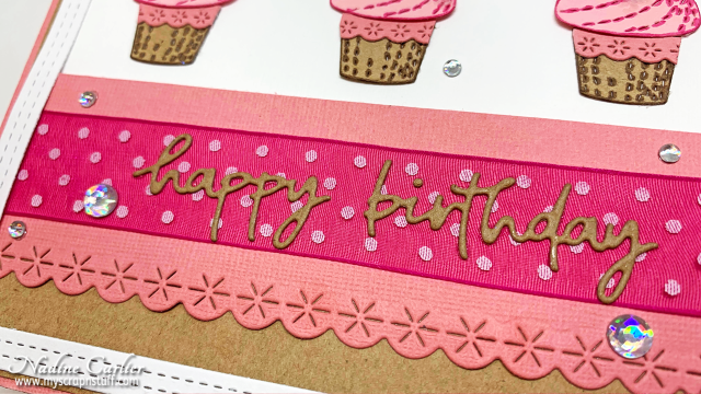 Cupcake Birthday Card by Nadine Carlier 2