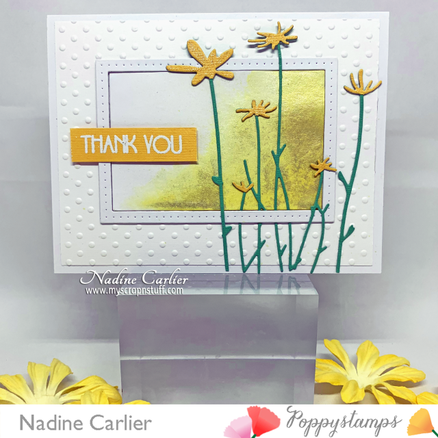 Thank You Card by Nadine Carlier