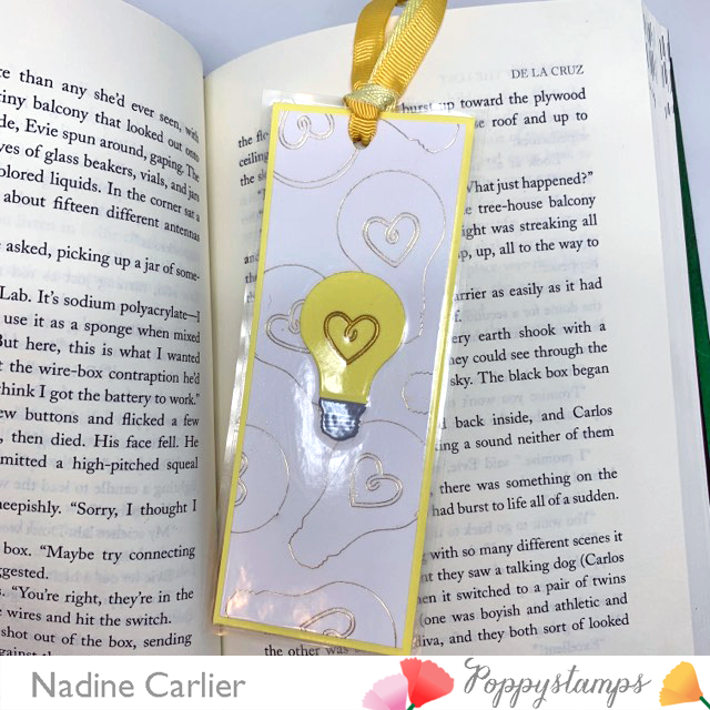 DIY Bookmark by Nadine Carlier