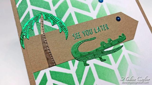CAS Gator Card by Nadine Carlier 2