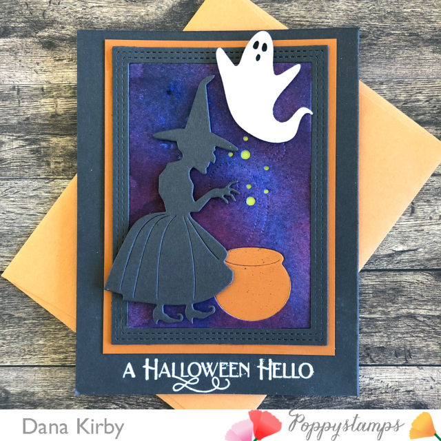 CL487 Halloween Fun clear stamp set