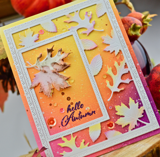 2248 Autumn Leaf Set craft die