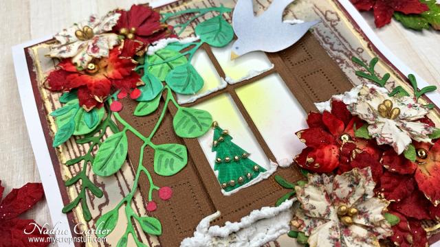 Window Christmas Card by Nadine Carlier 1