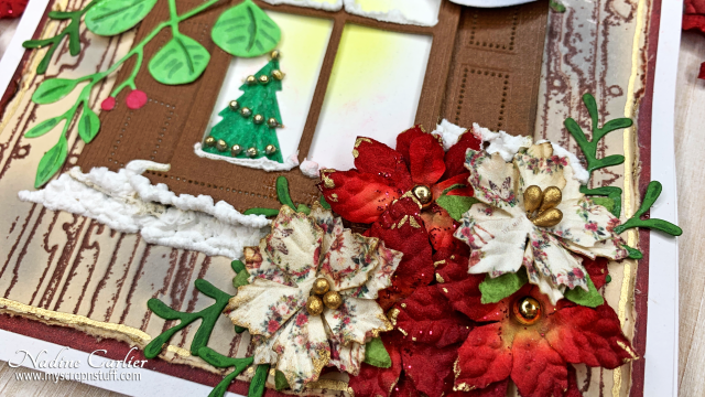 Window Christmas Card by Nadine Carlier 2