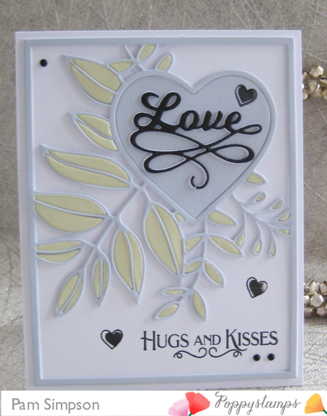 2311 Love Flourish craft die
