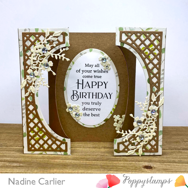 Gateway Fold Birthday Card by Nadine Carlier PS