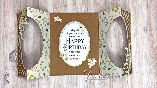 Gateway Fold Birthday Card by Nadine Carlier 5