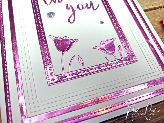 Thank You Card by Nadine Carlier 2