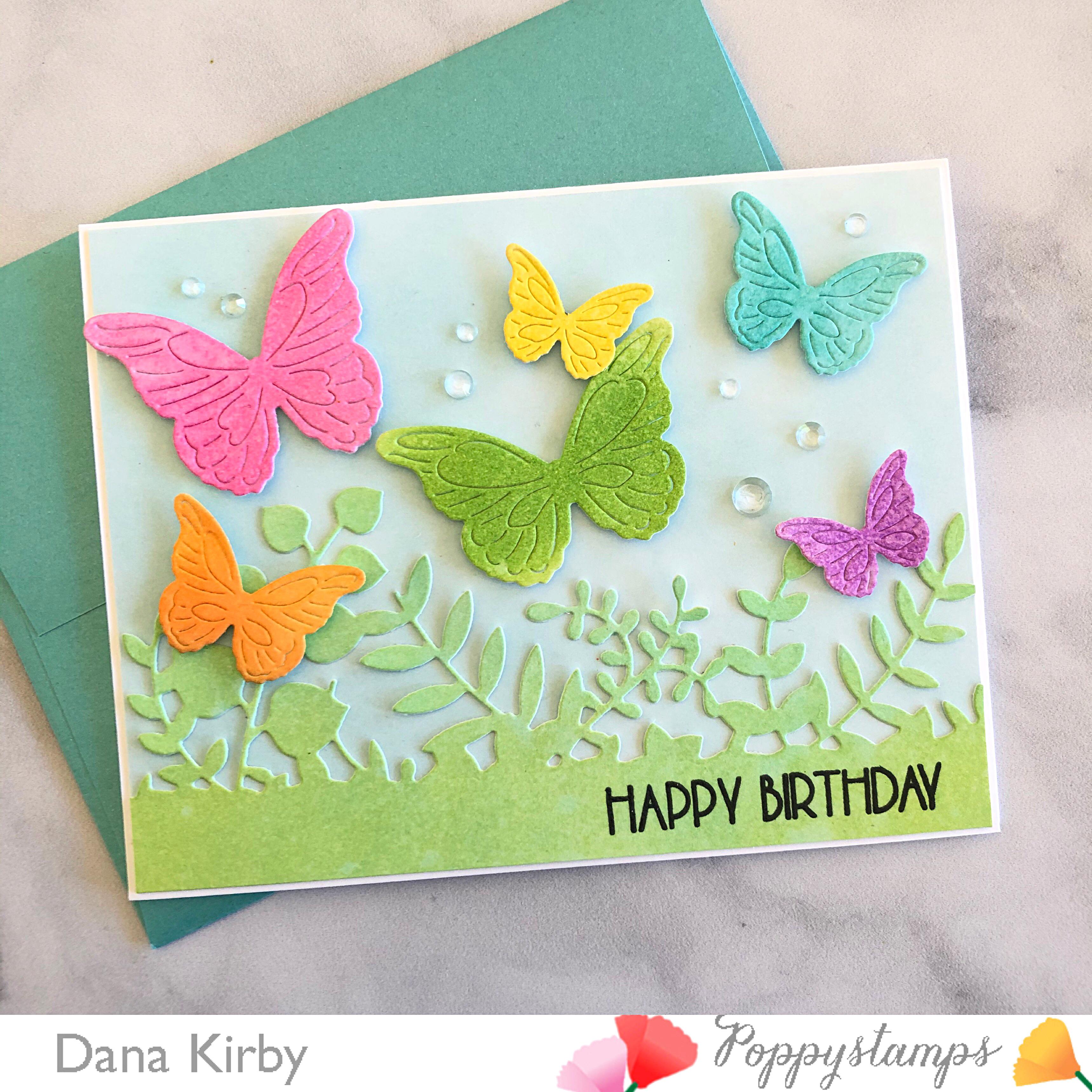 poppystamps: Butterflies