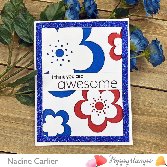 Awesome Card by Nadine Carlier