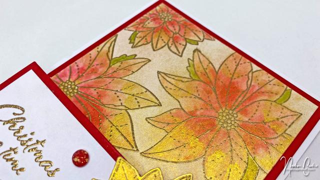 Christmas Easel Card by Nadine Carlier 2