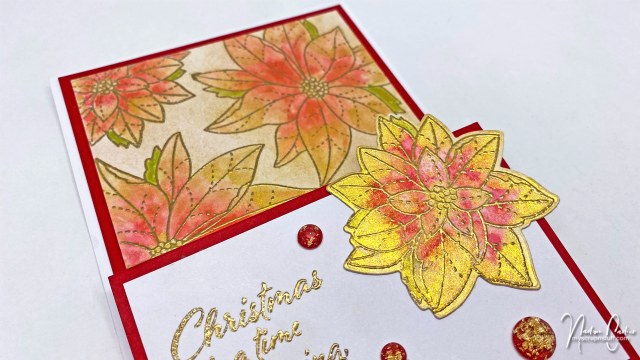 Christmas Easel Card by Nadine Carlier 2