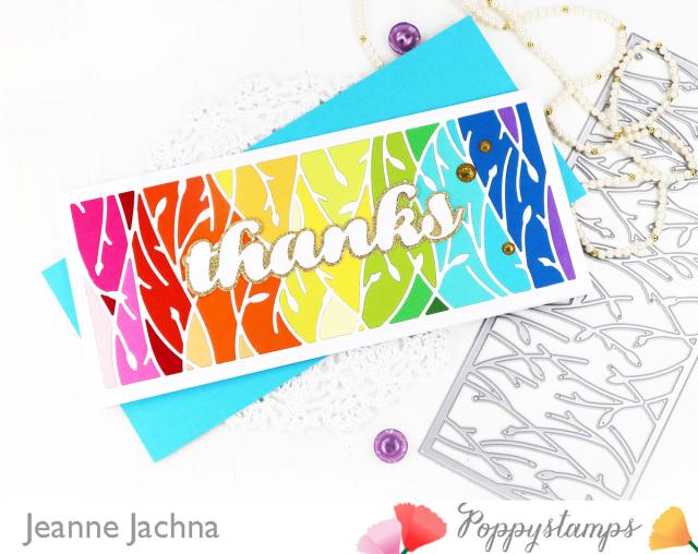 Leafy Vines-Poppystamps-Jeanne Jachna-Angle