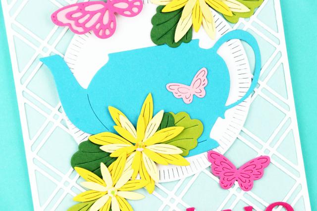Grandmas Teapot-Poppystamps-Jeanne Jachna-CU2